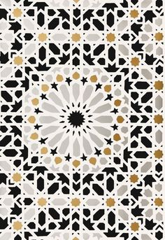 5005961 Schumacher Wallpaper pattern name Nasrid Palace Mosaic. Mahones Wallpaper Shop only sells quality no second hand materials with full manufacturer guarantee. Geometric Patterns, Tile Patterns, Geometric Art, Pattern Art, Textures Patterns, Zentangle Patterns, Mosaic Wallpaper, Of Wallpaper, Pattern Wallpaper