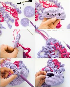 make a cute Crochet Octopus Pattern/ Amigurumi Octopus / Amigurumi All things crochet by LilCrochetLove Browse unique items from LilCrochetLove on Etsy, a global marketplace of handmade, vintage and creative goods. Cute Crochet Octopus toy for Preemi Crochet Gratis, Crochet Diy, Crochet Patterns Amigurumi, Crochet Dolls, Crochet Edgings, Crocheted Jellyfish, Crochet Octopus, Crochet Mignon, Crochet Simple
