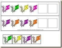 Letter K for Kite - Confessions of a Homeschooler Letter K Preschool, Senses Preschool, Preschool Centers, Preschool Worksheets, Preschool Activities, Teach Preschool, Abc Bible Verses, Pattern Worksheet, Math Patterns