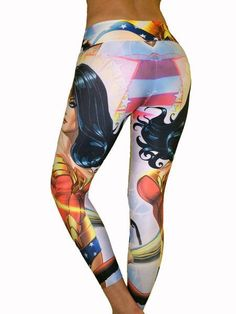 Wonder Woman Leggings perfect for your CrossFit WOD!.... >>> Check out even more at the picture