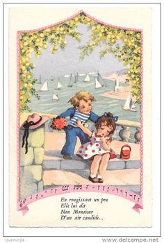 Cartes Postales > Thèmes > Enfants > Cartes humoristiques - Delcampe.fr