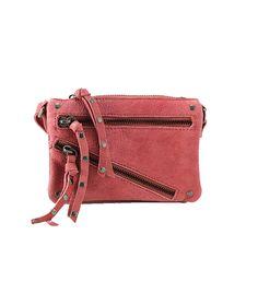 Carly Leather Crossbody