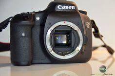 Vorderseite der Kamera ohne Objektiv Canon Eos, Smart Watch, Samsung, Reflex Camera, Lens, Smartwatch