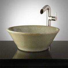 Hamblin Hand Glazed Vessel Sink
