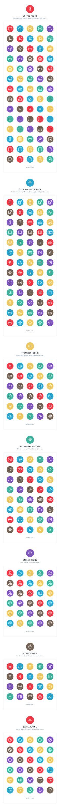 Line Icon Set by Agung Syaifudin, via Behance