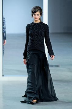 cool chic style fashion: Derek Lam Fall 2012 Collection