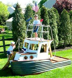 WackyInventions.com - Sandbox Play Boat