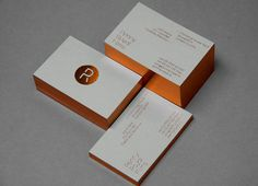 Logo and stationery with copper block foil print finish designed by Alphabetical for Penny Royal Films