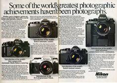 Nikon cameras - 1984
