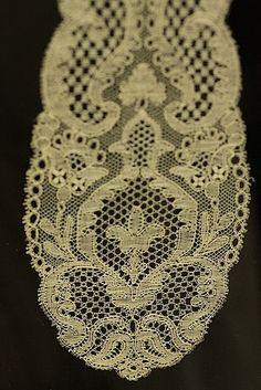 Bobbin lace Exhibition Bucks Point lace