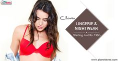 See beautiful variety of Clovia #lingerie & #nightwear collections at Planeteves. Starting from Rs.199 !!  Shop Now => http://goo.gl/xIGkx6