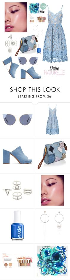"""💎"" by fllodeea ❤ liked on Polyvore featuring Fendi, Robert Clergerie, Marc Jacobs, Charlotte Russe, Essie, BHCosmetics and Seventy Tree"