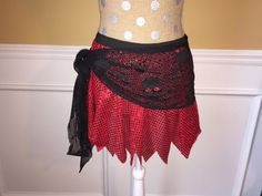 Pirate OR Fairy Running Black sequin by Fit4aPrincessShop on Etsy