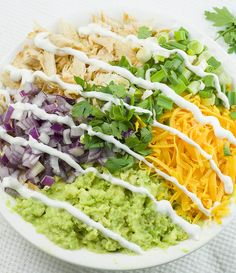 Chicken Avocado Salad Roll Ups are great appetizers for a party, healthy lunch for kids or light and easy dinner for whole family. Grilled Chicken Salad, Avocado Chicken Salad, Chicken Salad Recipes, Avocado Salad, Healthy Salad Recipes, Ripe Avocado, Healthy Lunches For Kids, Healthy Eating, Salad Rolls
