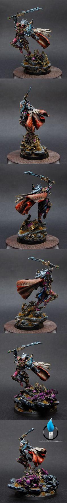 Fulgrim the Illuminator, Primarch of the Emperor's Children