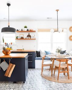 This kitchen makeover by @place_ofmy_taste is giving us something to swoon over #homestoryinteriors