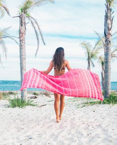 Red Beach Towel from https://thebohemianshop.com