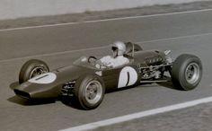 Jack Brabham - Brabham BT21 Honda - Brabham Racing Developments - Grand Prix de I'lle de France 1966