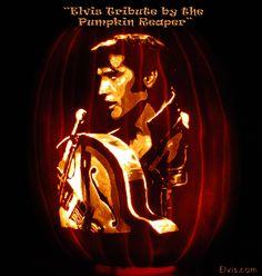 Winner of The Elvis Pumpkin Carving Contest! Congratulations to the Pumpkin Reaper!