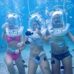 Helmet diving in boracay - philippines holiday Scuba Diving Quotes, Best Scuba Diving, Scuba Diving Gear, Underwater Crafts, Velo Design, Diving School, Scuba Diving Equipment, Scuba Girl, Snorkelling