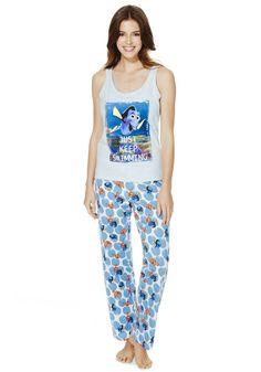 Clothing at Tesco   Disney Pixar Finding Nemo Pyjamas > nightwear > Women's nightwear > Women