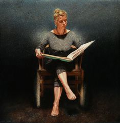 Evert Thielen | Lezende vrouw
