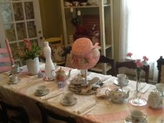 6 year old birthday party with tea party theme