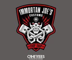 """Immortan Joe's Customs"" by adho1982 T-shirts, Tank Tops, V-necks, Sweatshirts and Hoodies are on sale until May 30th at www.OtherTees.com  #madmax #immortanjoe #othertees #tshirts #clothing #clothes #movies #cinema"