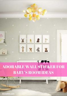 Wall sticker is one of the best ways to add a new style to any room. Just make sure that the area is clean, dry and free from dirt. wipe them with a slightly damp cloth Baby Room Wall Stickers, People Sleeping, One Bedroom, At Least, Decoration, Free, Style, Decor, Swag