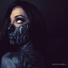 Maquiadora se transforma em monstros assustadores que vão te dar pesadelos