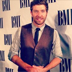 "Brett Eldredge at the BMI Country Awards. He tells BMI: ""It's my job to tell a story. That's the coolest thing in the world."" Photo from BMI's instagram @ bmi"