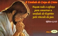 Salmos - Proverbios e passagens da Bíblia: A Unidade do Corpo de Cristo (Efésios 4,1-16)