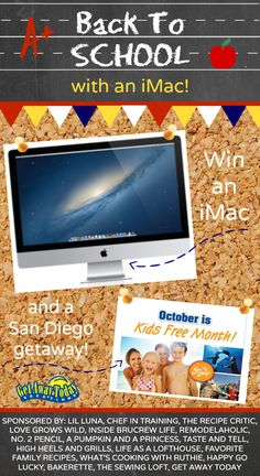 iMac Giveaway!! Enter Today!