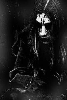 when I grow up I am so going to be wearing corpse paint like 24/7