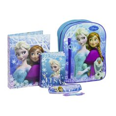 Perfect Gift for your young princess - Frozen Backpack Filled with Stationery.   #Gift #stationery #princess #backpack #cute #lovely