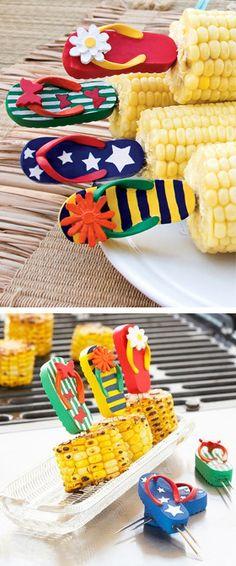 Flip flops corn holders! #product_design