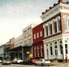 The Strand, Galveston, Texas...one of my favorite places to spend a summer day!