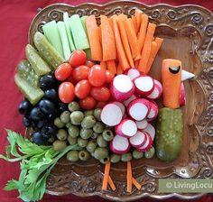 Turkey relish tray