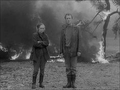 Max Von Sydow and Liv Ullmann Bergman Movies, Avant Garde Film, Max Von Sydow, Ingmar Bergman, Film Stills, Movie Quotes, Cinematography, Short Film, It Cast
