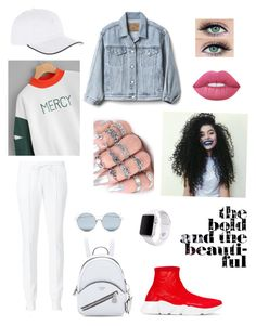 """""""Untitled #18"""" by babygirl-aurora on Polyvore featuring Gap, Cotton Citizen, For Art's Sake, Balenciaga, Vilebrequin and Apple"""