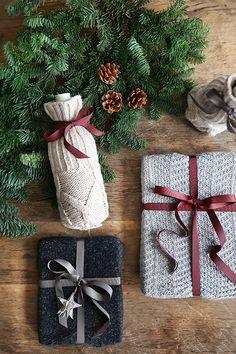 Christmas DIY Gift wrap ideas with Avfall Sverige and the blog Trendenser