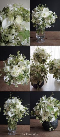 春は白グリーンの小花がたくさん出回ります。生徒さんに使って頂きたい、と思いながらもなかなかチャンスがなく・・・。今回はそんなお花をたくさんご用意できました...