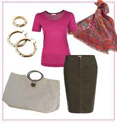 #Pink & #Olive #Essential by Brigitte von Boch #beonboch