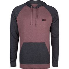 RVCA Graham Mens Hooded Shirt ($35) ❤ liked on Polyvore