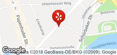 Karte Map, Google, Hamburg, Location Map, Maps