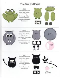 Stampin' Up! Owl Punch by mildred.clayton.7