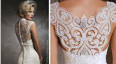 vestidos de noiva com renda e decote nas costas - Pesquisa Google