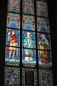 Prague St. Vitus Cathedral Stained glass