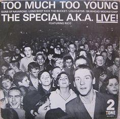 the special  -  vinyl / too much too young #memories #ska #quemolleja