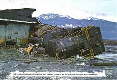 Great Alaska Quake - Alaska Railroads